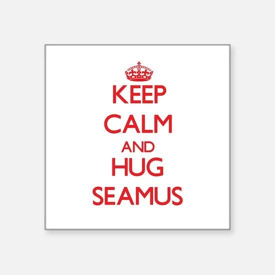 Keep Calm and HUG Seamus Sticker