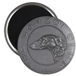 The Borzoi Club Vintage Medallion Magnets 10 PK