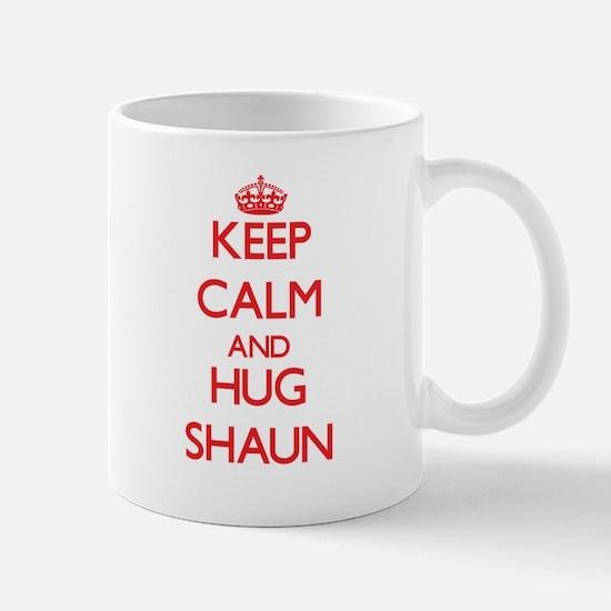 Keep Calm and HUG Shaun Mugs