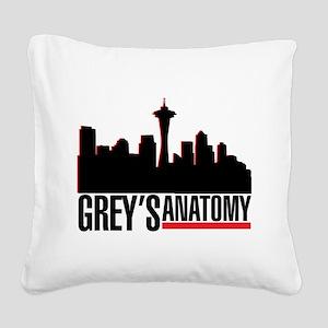 Skyline Square Canvas Pillow