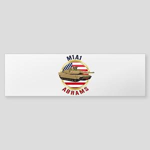 M1A1 Abrams Bumper Sticker