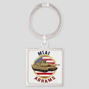 M1A1 Abrams Keychains