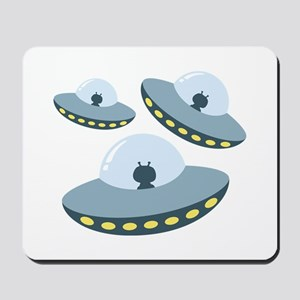 UFO Spacecrafts Mousepad