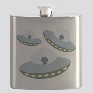 UFO Spacecrafts Flask