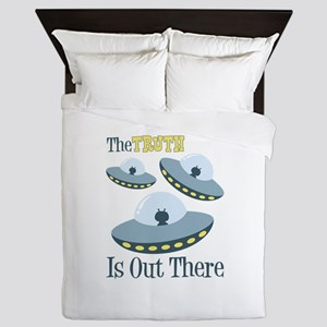 The TRUTH Is Out There Queen Duvet