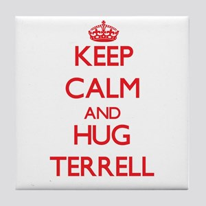 Keep Calm and HUG Terrell Tile Coaster
