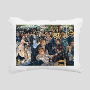 Dance at Le Moulin de la Rectangular Canvas Pillow