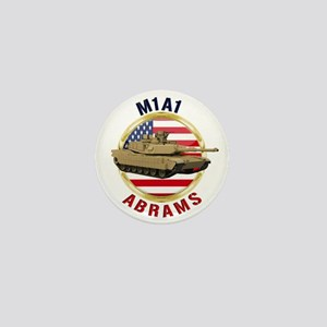 M1A1 Abrams Mini Button