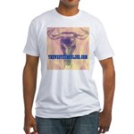 Steer Skull Fitted T-Shirt