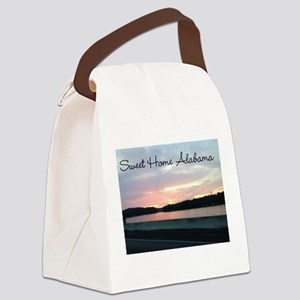 Sweet Home Alabama Canvas Lunch Bag