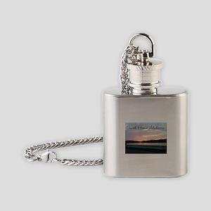Sweet Home Alabama Flask Necklace