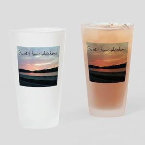 Sweet Home Alabama Drinking Glass