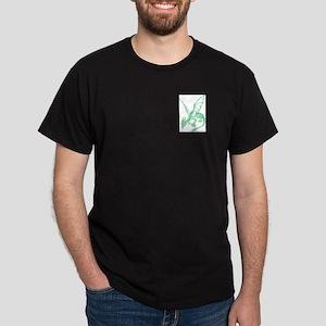 Jade Green Firedrake Dark T-Shirt