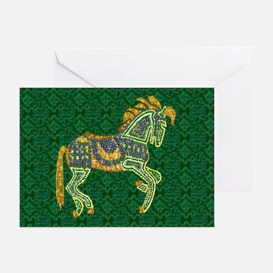 Jewel Art Horse Greeting Cards (Pk of 10)