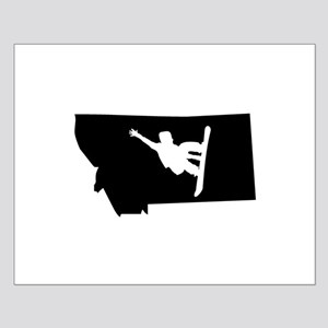 Montana Snowboarder Posters
