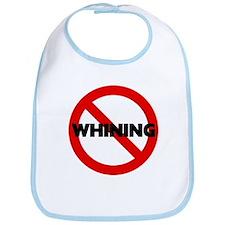 No Whining Bib
