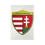 Hungary Metallic Shield Magnets