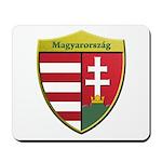 Hungary Metallic Shield Mousepad