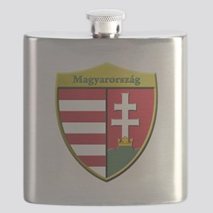 Hungary Metallic Shield Flask