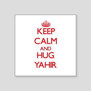 Keep Calm and HUG Yahir Sticker