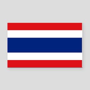 Thailand Flag Rectangle Car Magnet