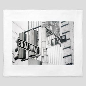 NY Broadway Times Square - King Duvet