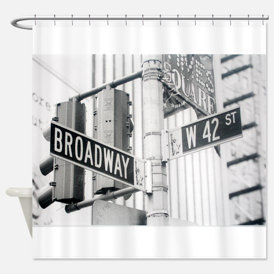 NY Broadway Times Square - Shower Curtain