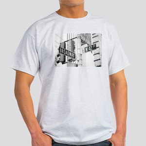 NY Broadway Times Square - Light T-Shirt