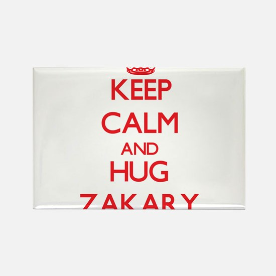 Keep Calm and HUG Zakary Magnets