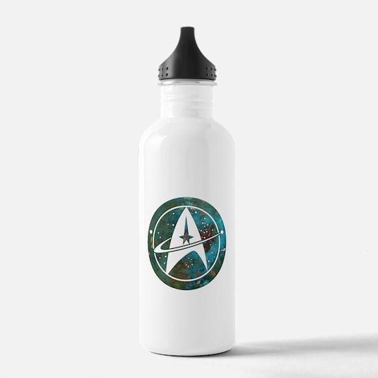 Star Trek logo Steam Punk Copper Water Bottle