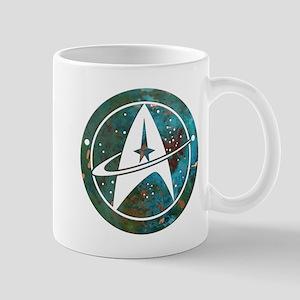 Star Trek logo Steam Punk Copper Mugs