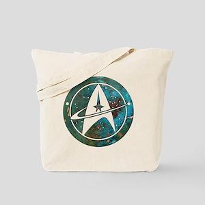 Star Trek logo Steam Punk Copper Tote Bag