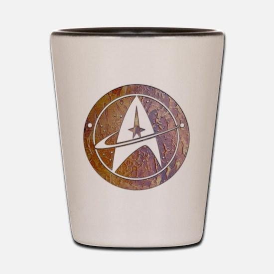 Copper Trek Shot Glass