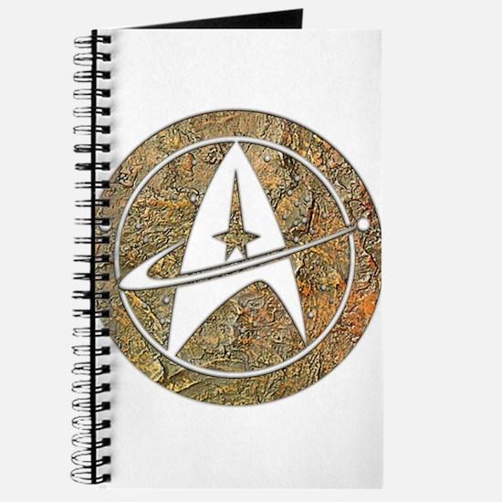 Hammered Copper Star Trek Journal