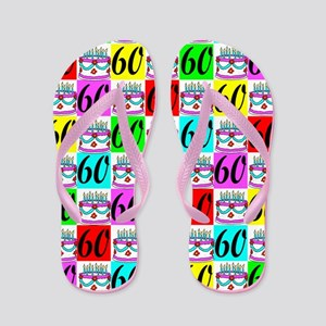 STYLISH 60TH Flip Flops