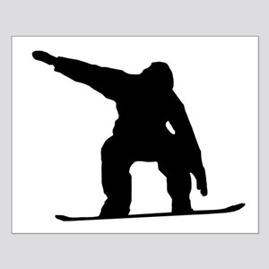 Snowboarder Silhouette Posters