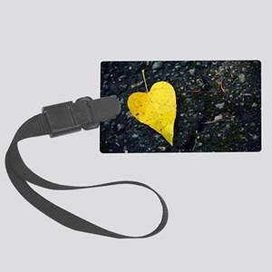 A Whole Heart Large Luggage Tag