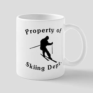 Property Of Skiing Dept Mugs