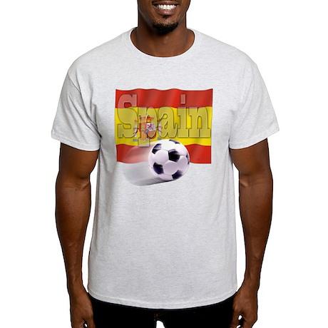Soccer Flag Spain Light T-Shirt