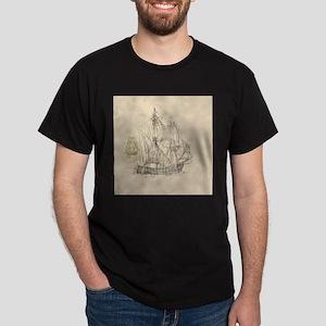 vintage sailing ships T-Shirt