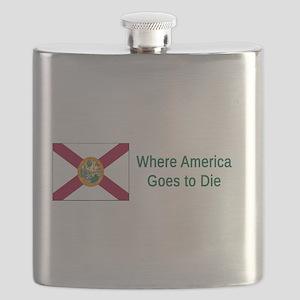 Florida Humor #4 Flask