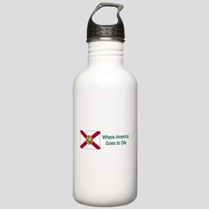 Florida Humor #4 Water Bottle