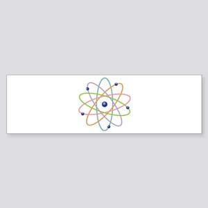 Atom Model Bumper Sticker
