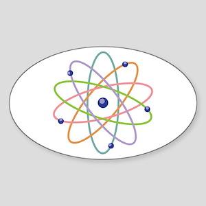 Atom Model Sticker