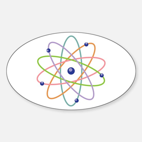 Atom Model Decal