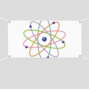 Atom Model Banner