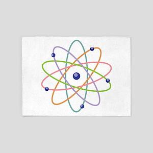 Atom Model 5'x7'Area Rug