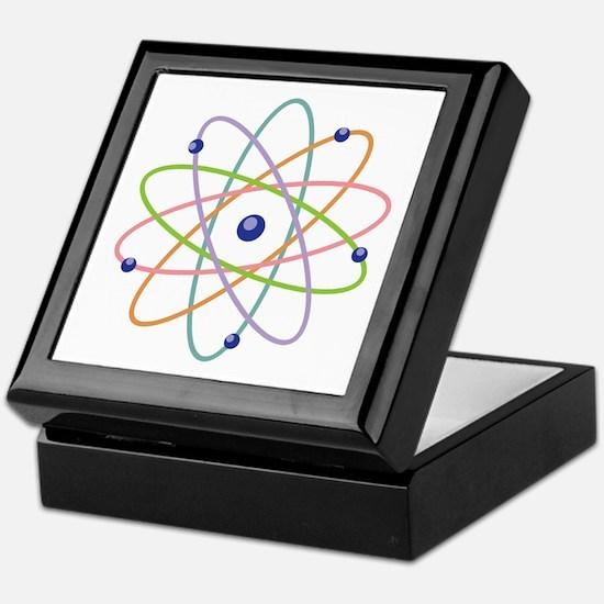 Atom Model Keepsake Box