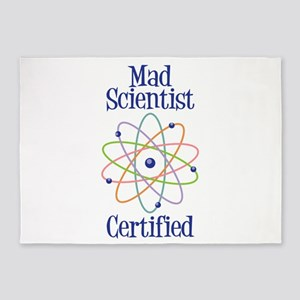 Mad Scientist Certified 5'x7'Area Rug
