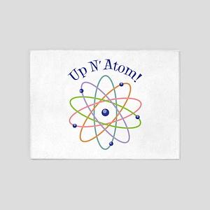 Up N Atom! 5'x7'Area Rug